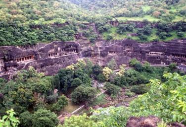 Ajanta Một Di Tích Độc Đáo Tại Ấn Độ