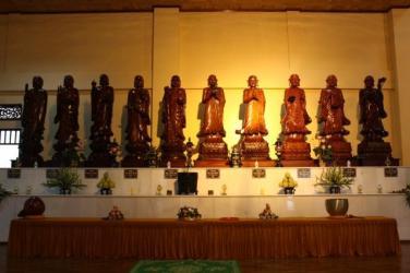 Chân dung thập đại đệ tử xuất sắc của Đức Phật Thích Ca Mâu Ni