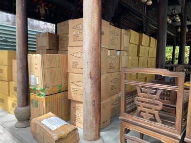 Chuyến hàng hỗ trợ chống dịch thứ 2 về tới Đà Nẵng