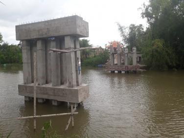 Cập nhật tiến độ thi công cầu Rạch Rít (Vĩnh Long) & cầu Nhân Ái (Long An)
