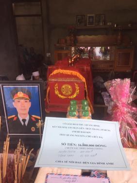 Chùa Bửu Đà: Hỗ trợ áo quan hoàn cảnh anh Lâm tại Quảng Bình