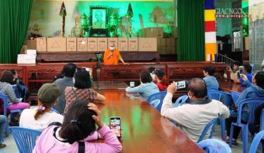 15g chiều nay 3-9, chùa Kỳ Quang 2 bắt đầu sắp xếp lại linh cốt