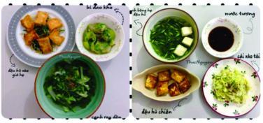 Gợi ý 14 mâm cơm chay đơn giản nhưng đảm bảo dinh dưỡng cho cả tuần