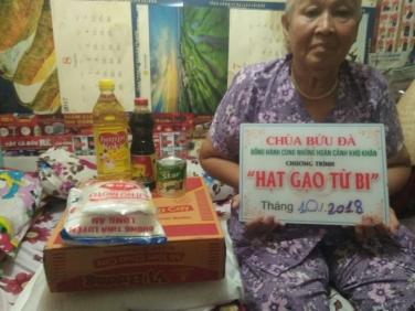 Tổng kết chương trình 'Hạt gạo từ bi' - kỳ tháng 10/2018