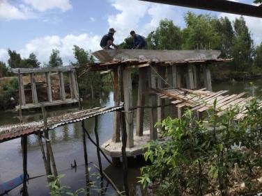 Kêu gọi chung tay đóng góp xây dựng cầu Vạn Phúc 6 tại Hòn Đất - Kiên Giang