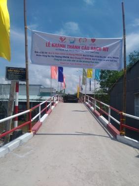 Lễ Khánh thành cầu Rạch Rít (Vĩnh Long)