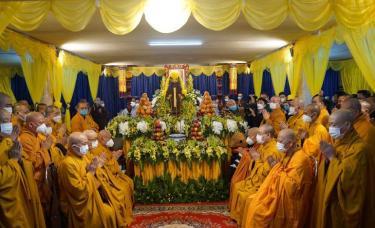 Lễ nhập kim quan Đại lão Hòa thượng Thích Phổ Tuệ