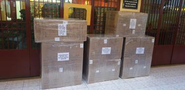 Chùa Bửu Đà: hỗ trợ khẩu trang và cồn sát khuẩn đến bà con 2 huyện Phước Sơn và Nam Giang (tỉnh Quảng Nam)