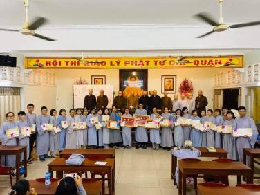 Lễ tổng kết trao thưởng hội thi giáo lý cấp quận năm 2019
