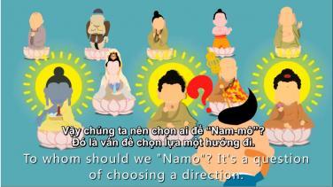 Ý nghĩa của hồng danh 'Nam Mô A Mi Đà Phật'
