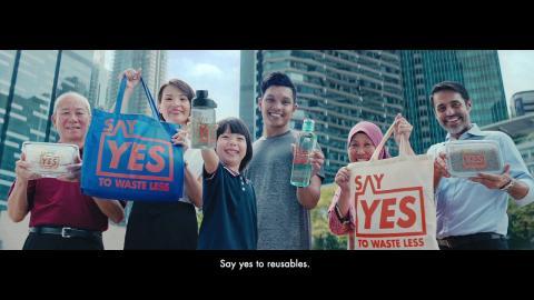 Say YES to Waste Less (Nói có để lãng phí ít hơn)