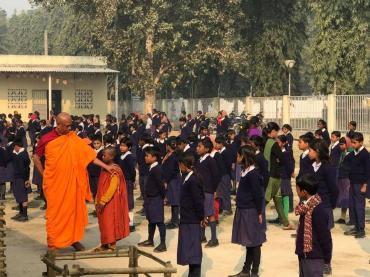 Ngôi trường đầu tiên của người Việt được xây dựng tại Vaishali (Ấn Độ)