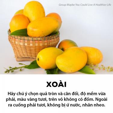Mách bạn bí kíp lựa một số loại trái cây tươi ngon