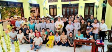 Lớp Tiếng Hoa chùa Bửu Đà mừng ngày Nhà giáo Việt Nam 20/11