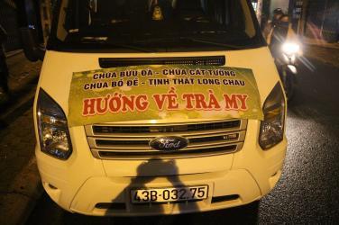 Chùa Bửu Đà: cứu trợ miền Trung đợt 02 - Nam Trà My (Quảng Nam)