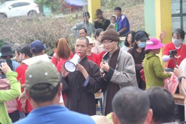 Chùa Bửu Đà, Tịnh Thất Long Châu và Chùa Cát Tường cứu trợ miền Trung đợt 02