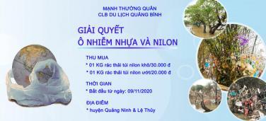 Trả tiền cho những chiếc túi nilon mắc lại cành cây sau lũ: Cách làm từ thiện đầy nhân văn ở Quảng Bình