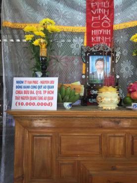 Chùa Bửu Đà: chương trình Áo quan cho người nghèo lần 40