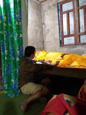 Chùa Bửu Đà: chương trình Áo quan cho người nghèo lần 42