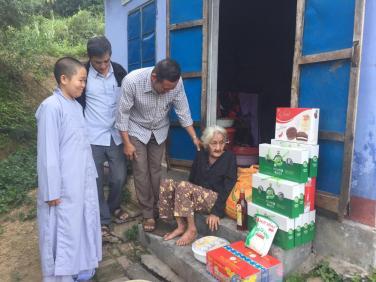 Chùa Bửu Đà: báo cáo chương trình Hạt gạo từ bi tháng 12/2019