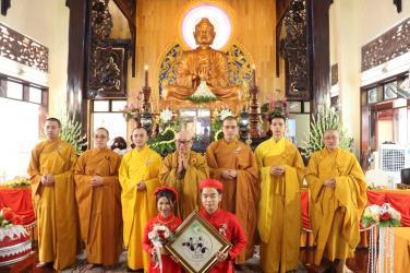 Chùa Bửu Đà: Lễ hằng thuận Phật tử Gia Bảo & Bảo Ngọc