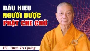 Dấu hiệu người được Phật che chở