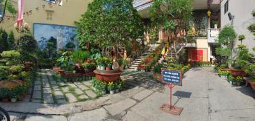 Cảnh quan chùa Bửu Đà trước thềm xuân Tân Sửu