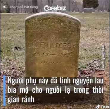 Người lau bia mộ