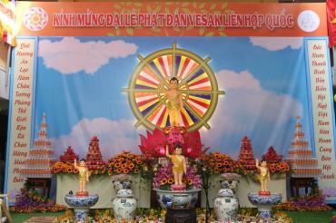 Lễ Tắm Phật 08/04/Kỷ Hợi tại chùa Bửu Đà