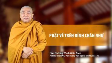 Phật về trên đỉnh Chân Như