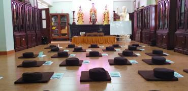 Buổi học thứ 3 - Lớp Hướng Dẫn Thiền chùa Bửu Đà