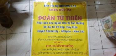 Chuyến tham quan - cứu trợ nam Lào