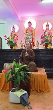 Thiền Vipassana 'Tu tập tâm từ' - Sc Diệu Hiếu